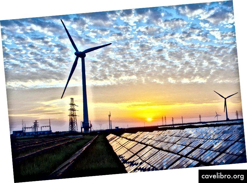 Le Professeur Damien Ernst pense qu'un réseau énergétique mondial mettrait fin aux carburants fossiles. Crédit image - Kenueone, sous licence CC0 1.0