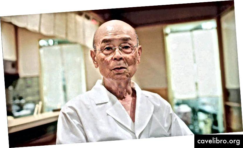 मास्टर सुशी शेफ और पाक जीनियस ओनो ओनो