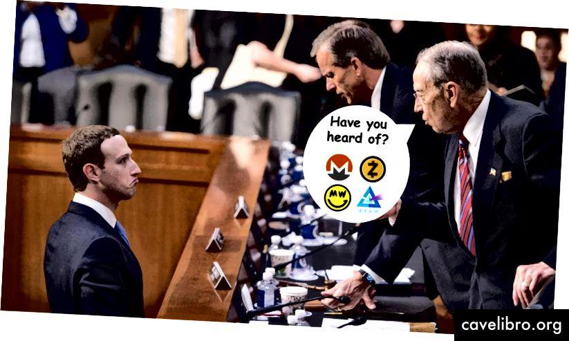 Crédit: AFP, sites Web Privacy Coin