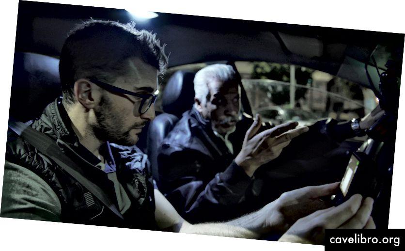 काहिरा में बीटा ड्राइवर का फीडबैक लेते हुए एडू