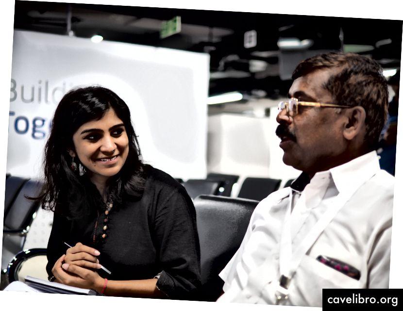 Minal recueille les réactions d'un pilote bêta à Bangalore