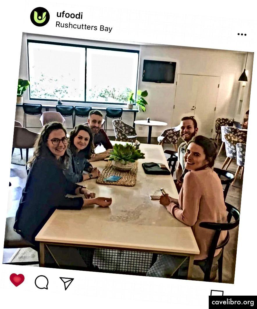 Emma, ja, Scott, Nate i izvršni direktor Natalie - sada smo # neugledni