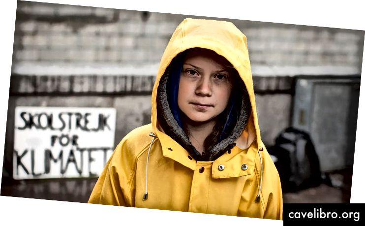 «Greta Thunberg pourrait devenir la Harriet Beecher Stowe de notre époque» - Image de Anders Hellberg