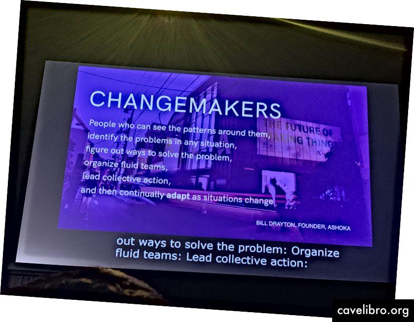 Bạn có phải là người thay đổi?