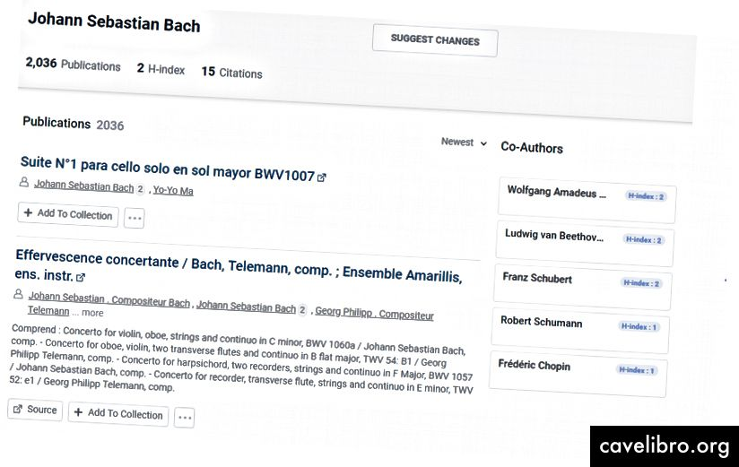 Bach est l'un des plus grands musiciens, mais ses œuvres musicales ne sont pas des articles.