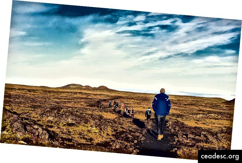 Flow Journey -retki Islantiin lokakuussa 2017