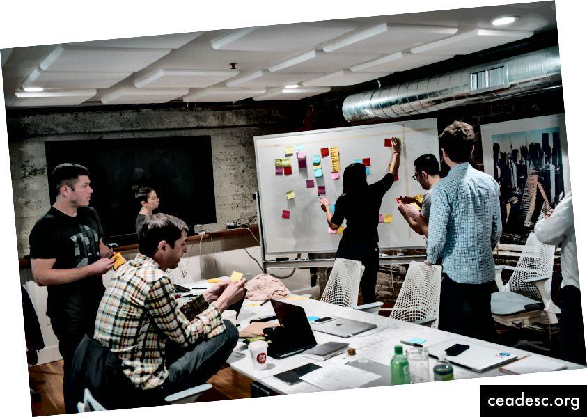 Participe en reuniones de equipo, críticas y eventos.