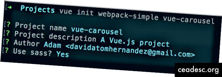 Kun olet asentanut CLI: n, prototyyppien tekemisestä tulee helppoa.