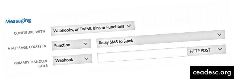 Configurar SMS entrantes para ir a su función
