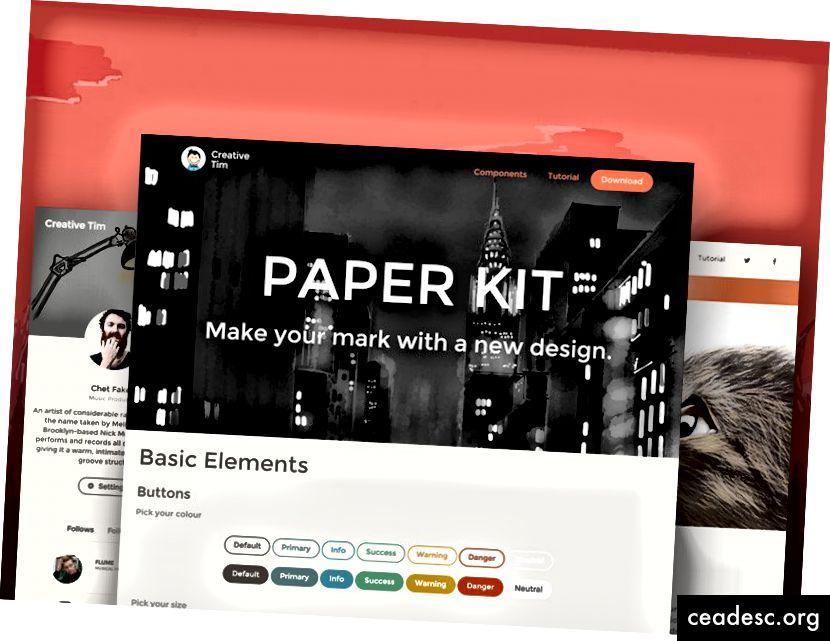 Папір UI Kit