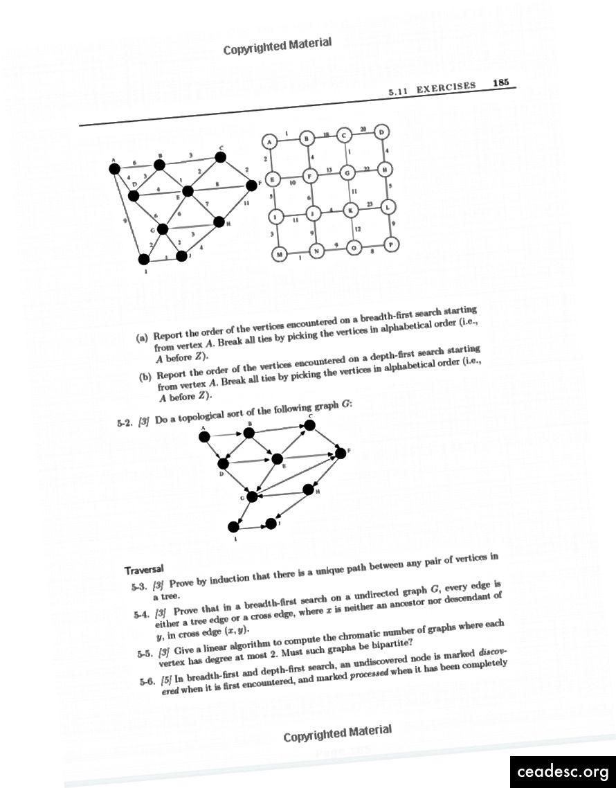 Pages extraites du manuel de conception d'algorithmes.