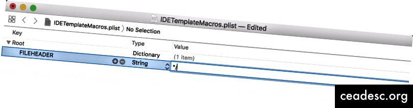 Collez l'en-tête personnalisé de l'éditeur de texte dans la cellule de valeur.