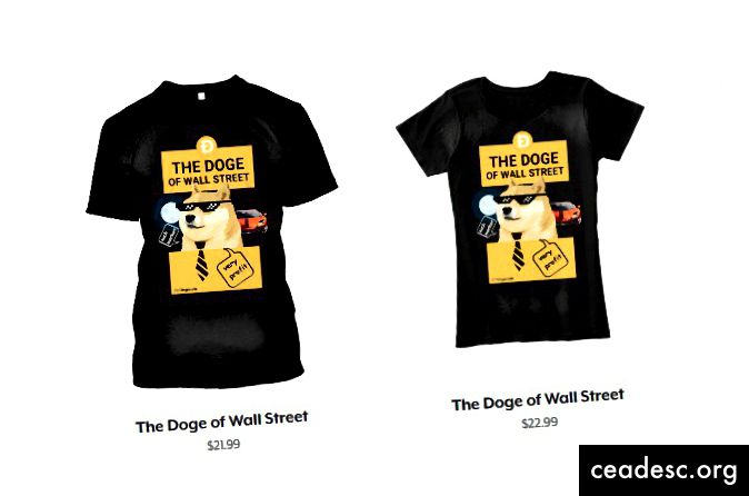 T-Shirt The Doge of Wall Street