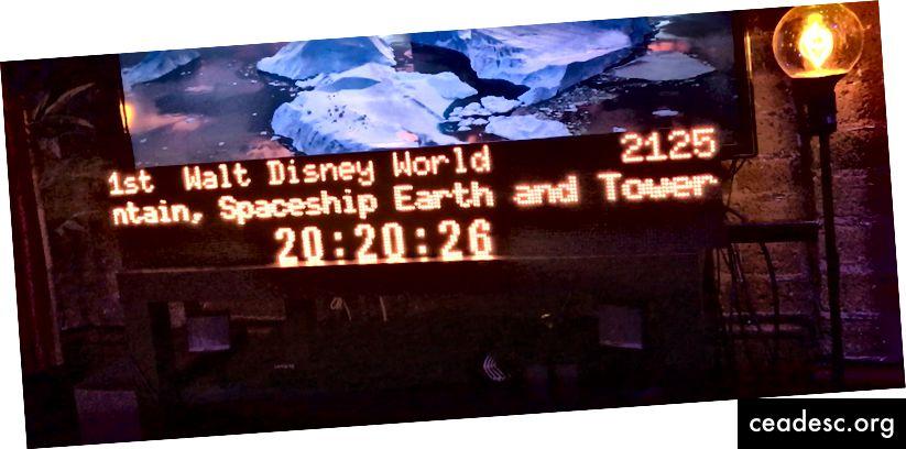 Mon panneau de départ «train» initial que j'avais pavé avec quelques panneaux matriciels à DEL et un Raspberry Pi