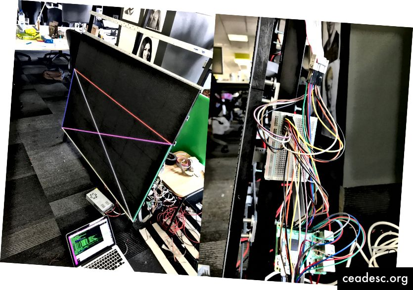 Използването на дъска и джъмперни кабели е напълно това, което професионалистът би използвал в производството. Факт.