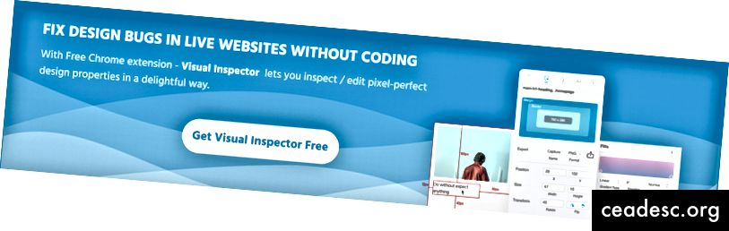 Korjaa suunnitteluvirheet Live-verkkosivustossa ilman koodausta