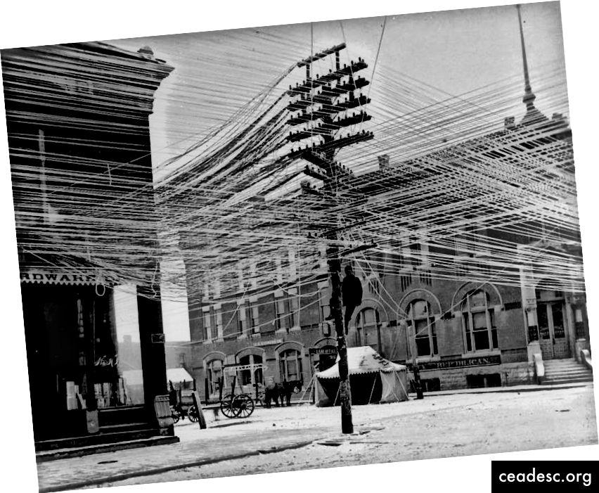 Tour téléphonique de Stockholm, 1890