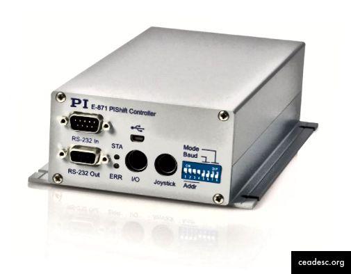 Controlador controlador de un piezomotor. (fuente)