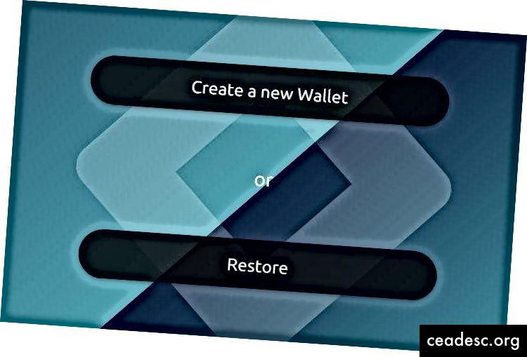 Crea un nuovo portafoglio Eidoo