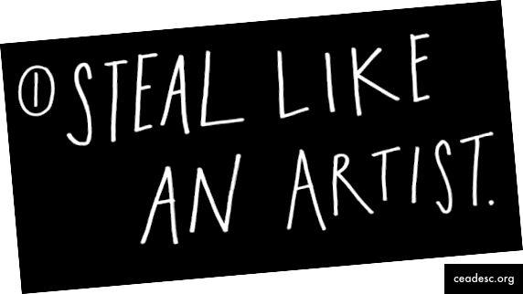 Varastada nagu ja kunstnik - Austin Kleon