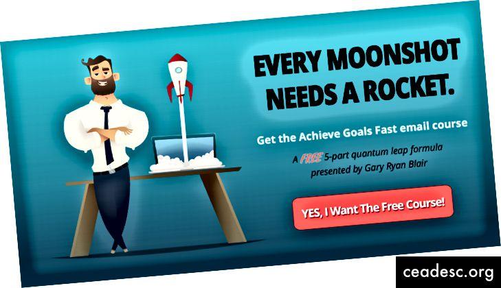 Hankige kiiresti saavutatavate eesmärkide e-posti kursus
