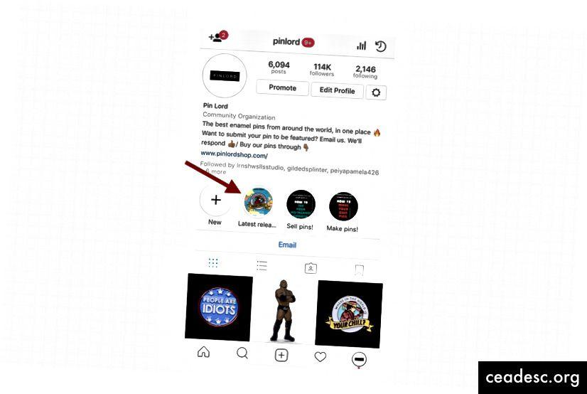 """Instagram kirjeldab funktsiooni järgmiselt: """"Lood esiletõstetud ilmuvad teie profiili uues jaotises teie biograafia alla. Esiletõstmise loomiseks puudutage vasakus servas ringi """"Uus"""". Sealt saate oma arhiivist valida suvalisi lugusid, valida esiletõstmiseks katte ja anda sellele nimi. Kui olete lõpetanud, ilmub teie esiletõstetud profiil teie suhtlusringina, mis mängib eraldiseisvana lugu, kui keegi seda koputab. Esiletõstmised jäävad teie profiilile, kuni need eemaldate, ja teil võib olla nii palju esiletõstmisi, kui soovite."""