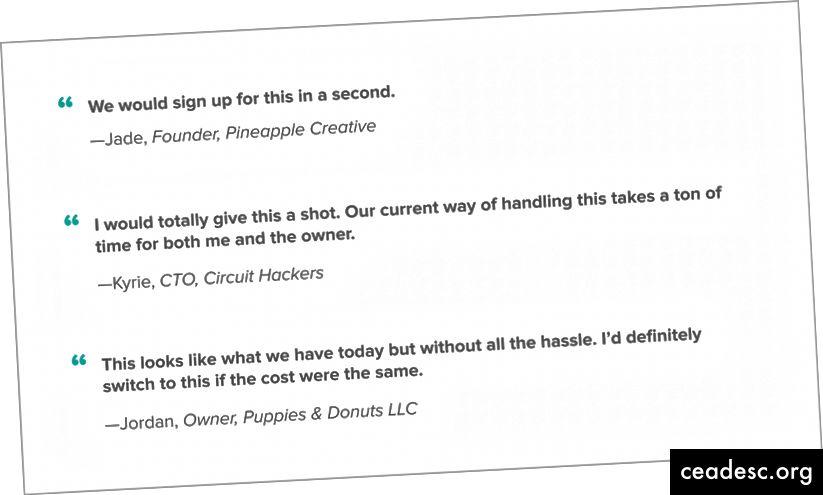 Oma õppetöö varundamiseks on teil palju tegelikke klientide pakkumisi. Need on nagu kuld.