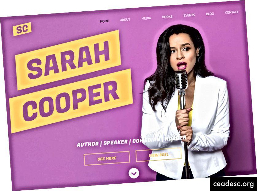 Vaadake sarahcpr.com, thecooperreview.com ja tema lõbusat raamatut 100 trikki kohtumistel nutikateks ilmumiseks