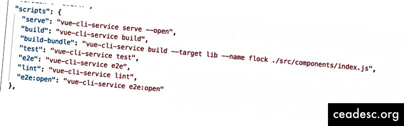 Lisage skriptidele oma ehitamise käsk