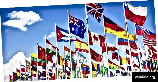 Para mí, no son solo banderas. ¡Para mí, es la gente! Crédito de imagen: INA-DENIA de Wikimedia Commons