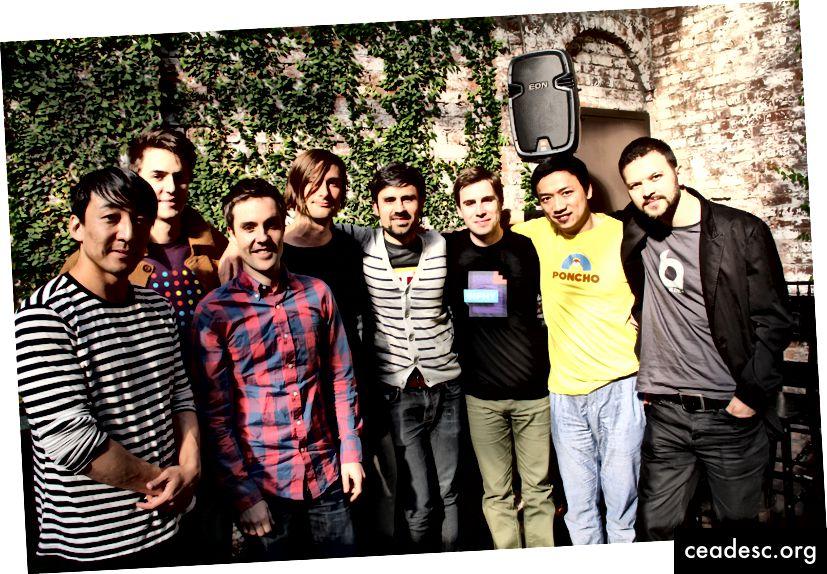 Fundadores de startups en Betaworks en 2013