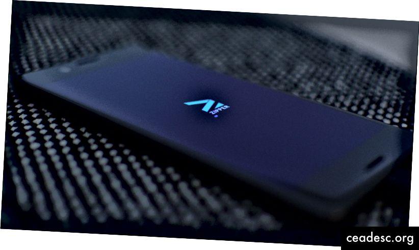 Zippie käivitamine Sony Xperia X-l