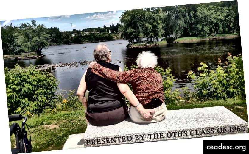 La camaraderie est une clé de la longévité. Photo: Nadene Saulnier