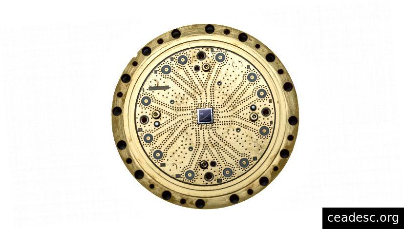 El procesador cuántico de 8 qubits de Rigetti