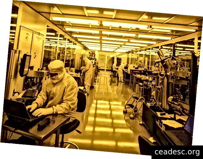 Laboratorio de fabricación de Rigetti en Fremont, CA
