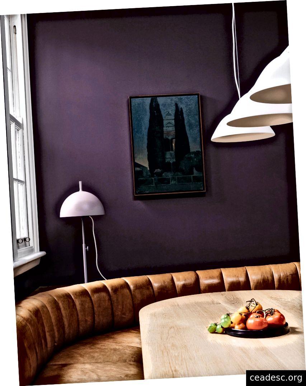 Si compra una gran pintura nueva con cipreses, debe honrar esta pintura con el rediseño correspondiente de los alrededores cercanos.