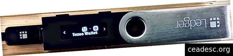 Pearaamat Nano S koos Tezose rahakotiga installitud