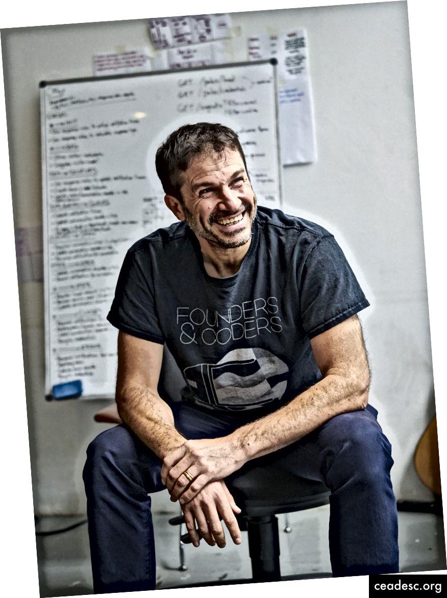 دان سوفر ، مؤسس ومدير مؤسسي و Coders CIC
