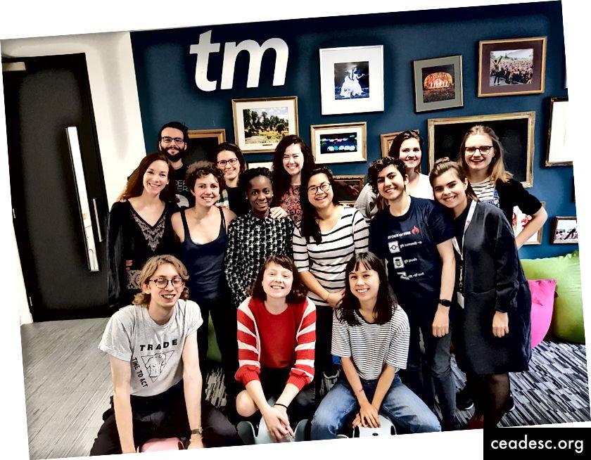 تخرجت ستة أجيال من المؤسسين والمبرمجين في الحدث 24 طلبات السحب التي استضافتها Codebar و Ladies of Code