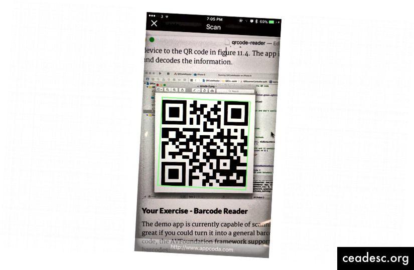 Scanning og dekodning af QR-koder