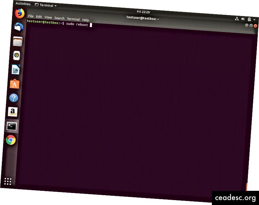 Ajout d'un utilisateur au groupe chrome-remote-desktop