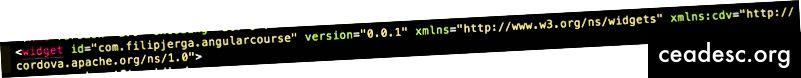id на елемента на джаджа е това, което трябва да посочим в Firebase