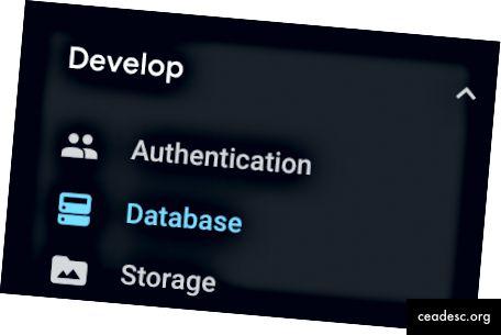 База данни на Firebase