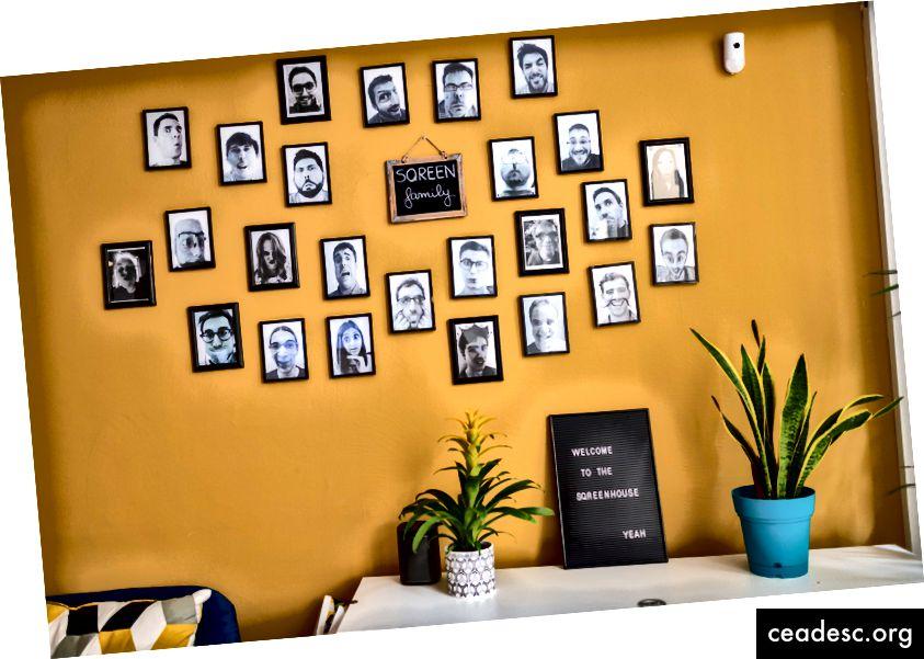 Voulez-vous votre photo sur le mur? Continue de lire :)