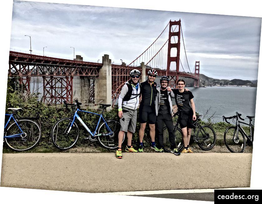 Pont + vélos = tir standard SF