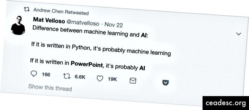 Une capture d'écran Twitter qui résume peut-être le mieux