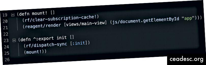 لاحظ ^: export - بيانات التعريف في Clojure