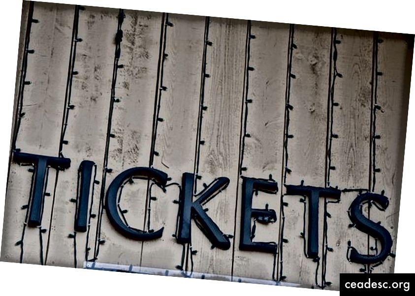 Pixabay tərəfindən Biletlər İşıq Giriş Des