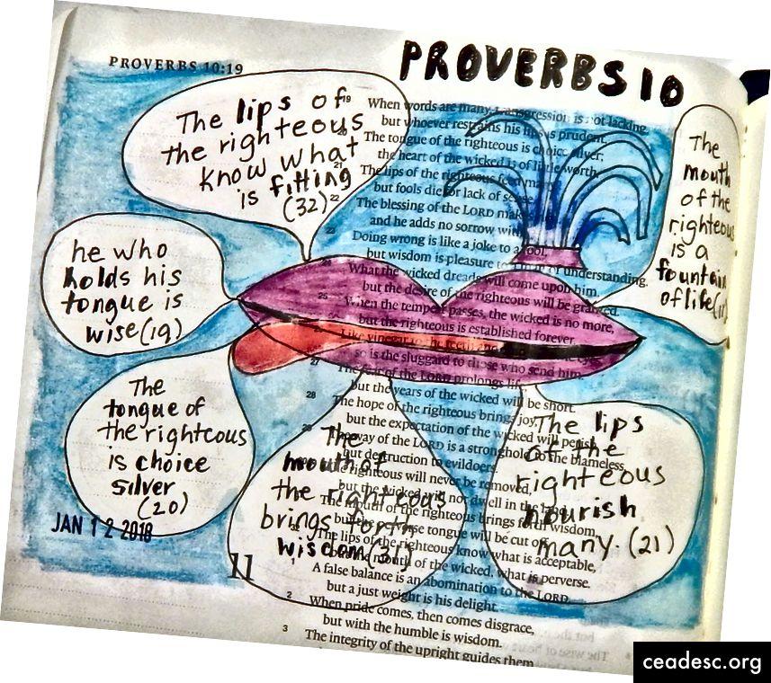 Janis Coxi piiblikunst vanasõnadest 10