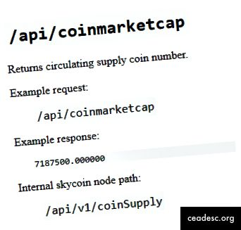 Primimo kružni opskrbni broj kao prvi API poziv